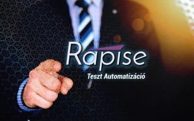 Inflectra Rapise – Tesztautomatizálás egyszerűen